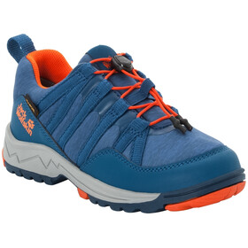 Jack Wolfskin Thunderbolt Texapore Low Schuhe Kinder blue/orange